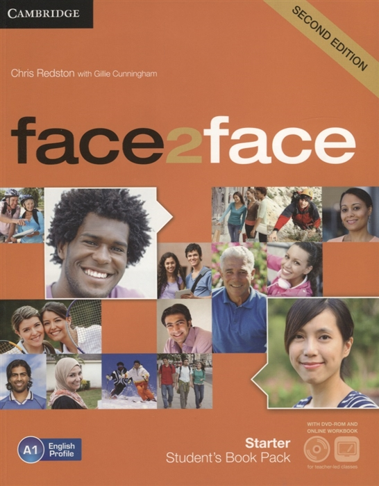 Redston C., Cunningham G. Face2Face Starter Student s Book A1 DVD Online Workbook think 5 student s book with online workbook and online practice
