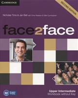 Face2Face 2Ed Upper Intermediate. Workbook without key. B2