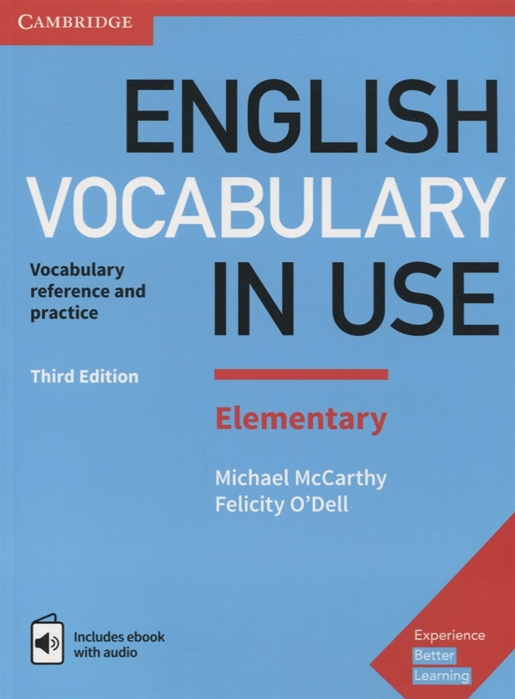 Mccarthy M. English Vocabulary in Use Elementary 3ED Book with Answers and Enhanced eBook цена