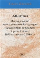 Формирование этнонациональной структуры независимых государств Средней Азии