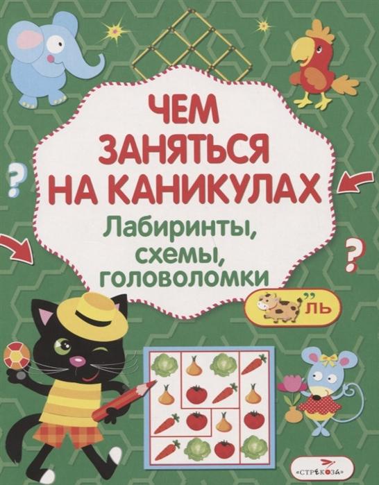 Лабиринты схемы головоломки Выпуск 6