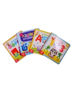 """Набор картонных книг """"Азбука и счет"""" (комплект из 4 книг)"""