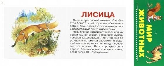 цены на Цыганков И. (илл.) Мир Животных Карточки  в интернет-магазинах