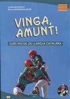 Vinga, amunt! Curs inicial de llengua catalana. Начальный курс каталанского языка. Книга+CD