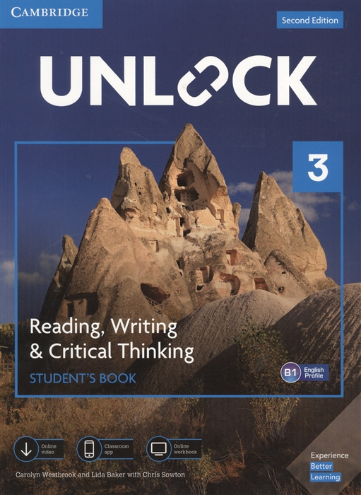 Фото - Westbrook C., Baker L., Sowton C. Unlock Level 3 Reading Writing Critical Thinking Student S Book English Profile B1 cambridge english prepare level 4 student s book