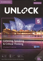 Unlock. Level 5. Listening, Speaking & Critical Thinking. Student`S Book. English Profile C1