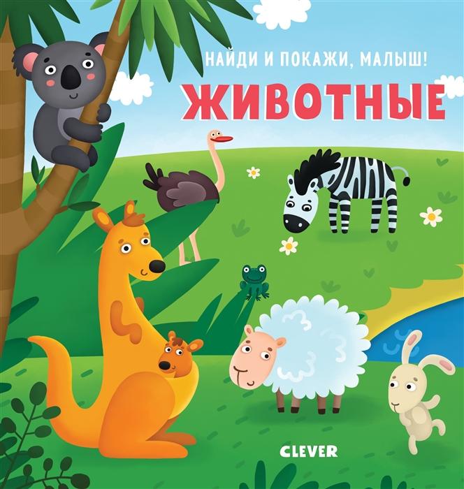 Купить Найди и покажи малыш Животные, Клевер, Книги - игрушки