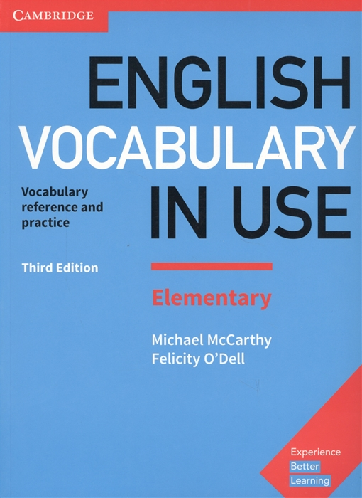 McCarthy M., O`Dell F. English Vocabulary in Use Elementary Vocabulary reference and practice with answers english vocabulary in use elementary