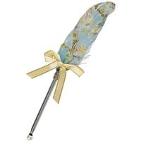 Ручка шариковая Перо Цветущие ветки миндаля