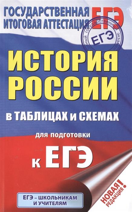 Баранов П. ЕГЭ История России в таблицах и схемах для подготовки к ЕГЭ 10-11 классы