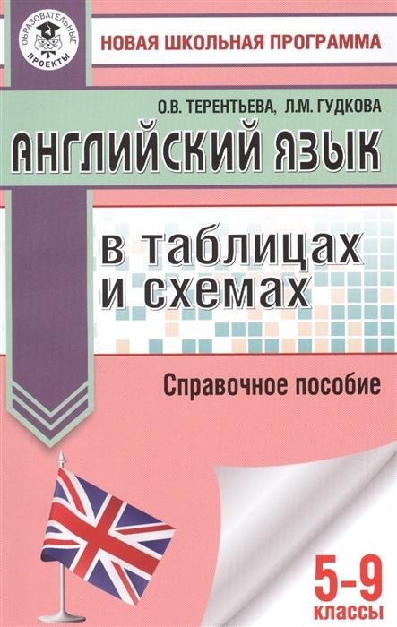 Терентьева О., Гудкова Л. Английский язык в таблицах и схемах 5-9 классы Справочное пособие