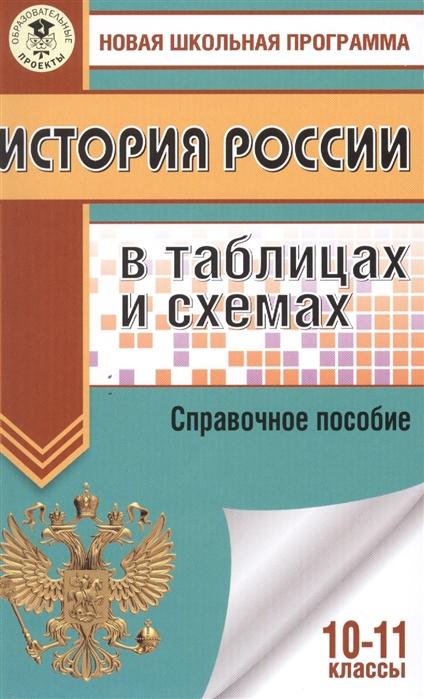 Баранов П. История России в таблицах и схемах 10-11 классы Справочное пособие