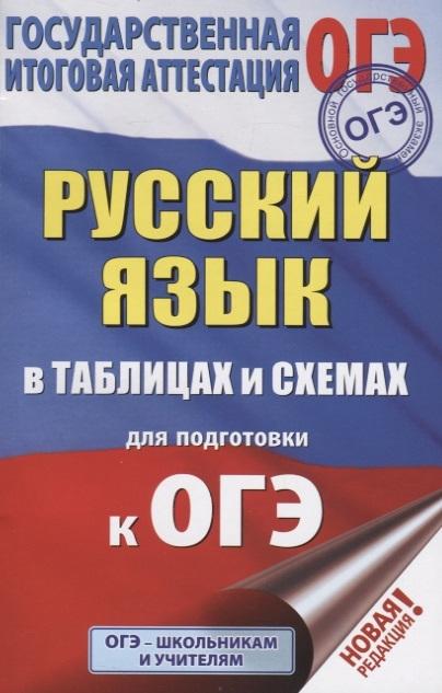 Текучева И. ОГЭ Русский язык в таблицах и схемах для подготовки к ОГЭ 5-9 классы