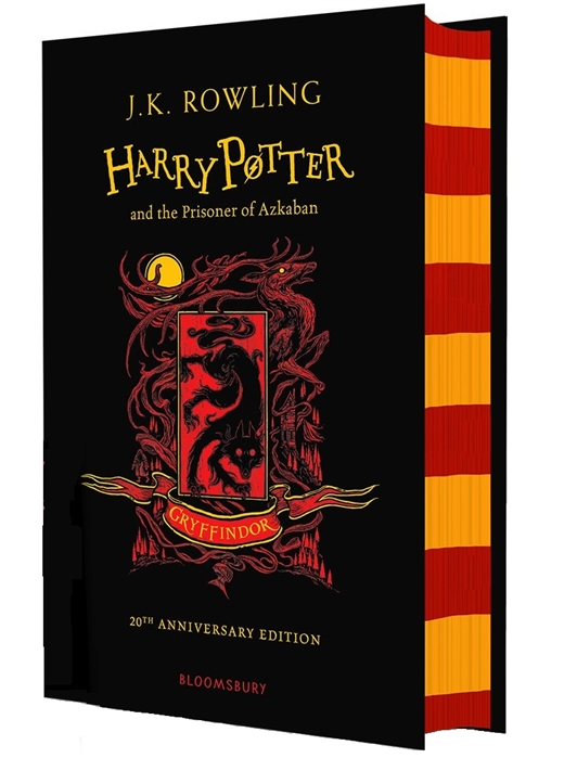 Rowling J. Harry Potter and the Prisoner of Azkaban Gryffindor Edition Hardcover бандана 4fun 4fun explore animals one