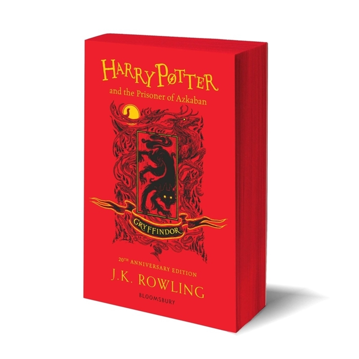 Rowling J. Harry Potter and the Prisoner of Azkaban Gryffindor Edition Paperback rowling j k harry potter and the philosophers stone slytherin edition