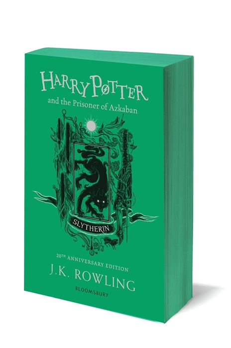 J.K. Rowling Harry Potter and the Prisoner of Azkaban Slytherin Edition Paperback виниловая пластинка ost williams john harry potter and the prisoner of azkaban
