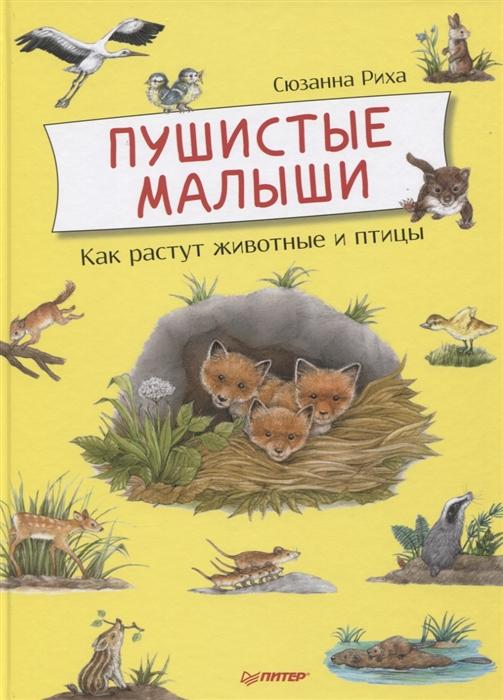 Риха С. Пушистые малыши Как растут животные и птицы