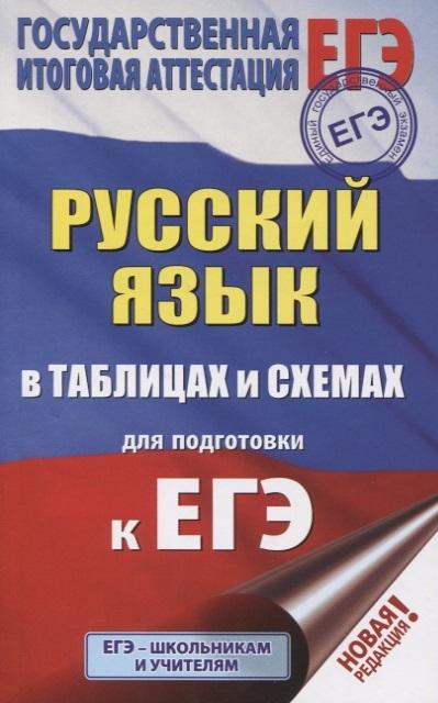 Текучева И. ЕГЭ Русский язык в таблицах и схемах для подготовки к ЕГЭ 10-11 классы цены онлайн