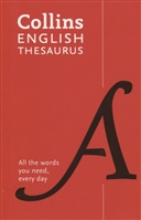 English Paperback Thesaurus: All the words you need, every day