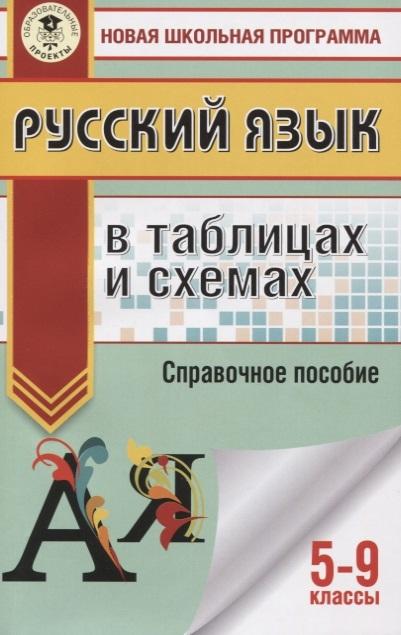 Текучева И. Русский язык в таблицах и схемах 5 - 9 классы недорого