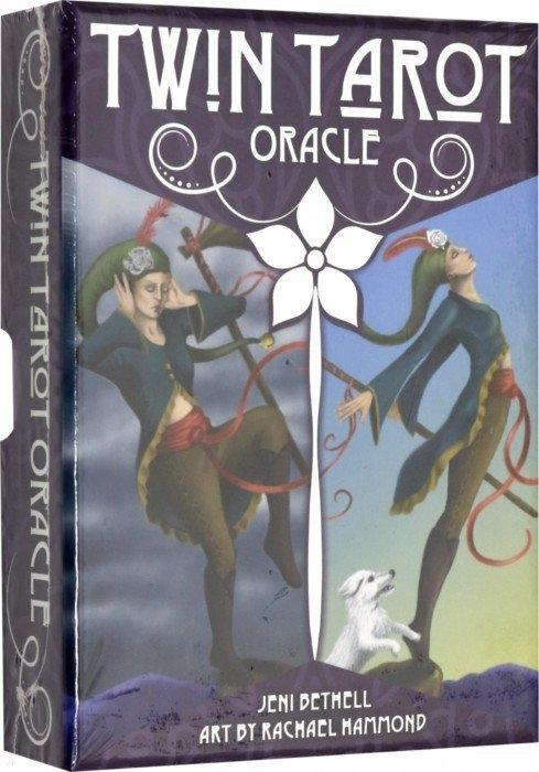 Bethell J. Oracle Twin Tarot Оракул Сдвоенное Таро оракул ларец таро рунический легенды северных дорог олсд