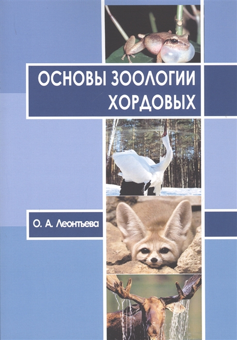 Основы зоологии хордовых Учебное пособие