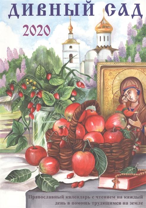Чаплина Н. (ред.-сост.) Дивный сад Православный календарь с чтением на каждый день 2020 год цены