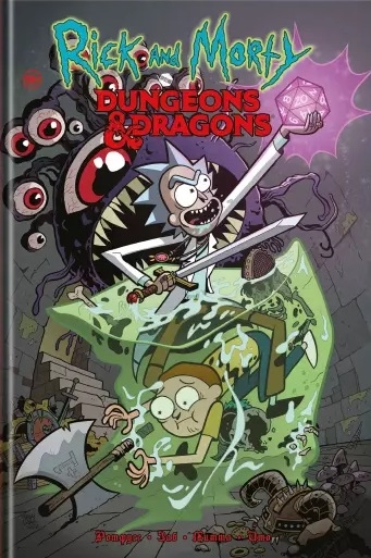 Заб Дж. Рик и Морти против Dungeons Dragons рик и морти против dungeons