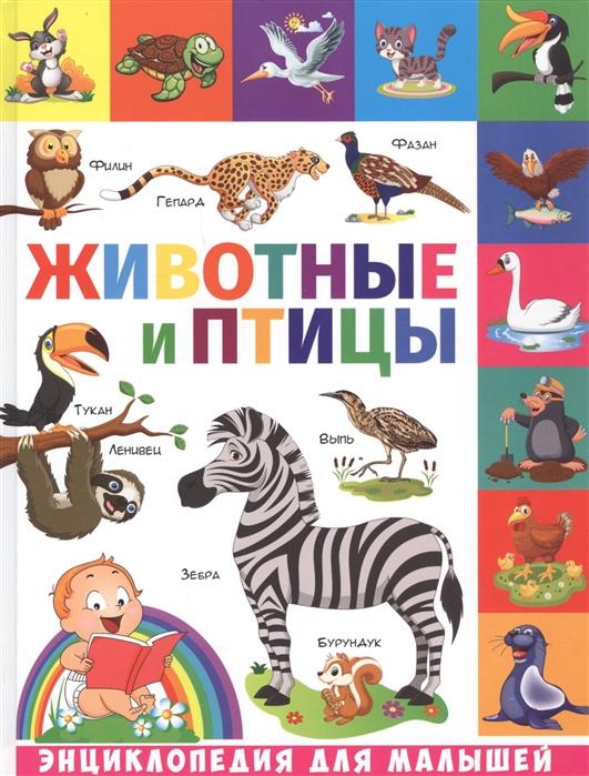 Купить Животные и птицы, Владис, Первые энциклопедии для малышей (0-6 л.)