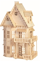 """Сборная деревянная модель """"Сказочный дом"""""""