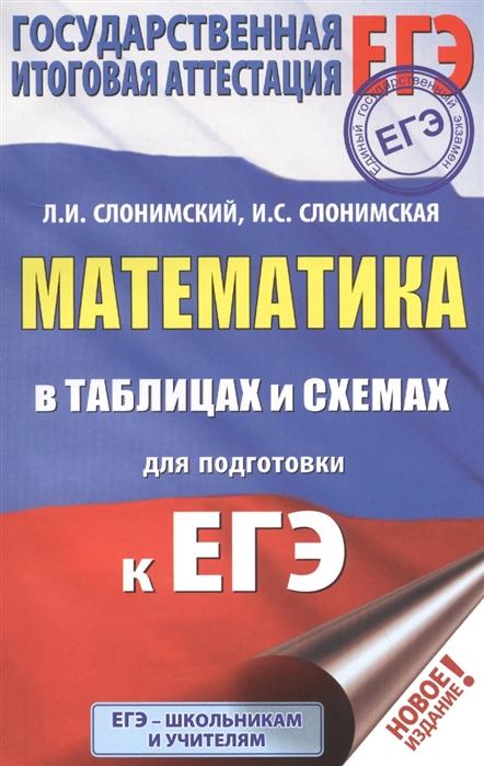 ЕГЭ Математика в таблицах и схемах для подготовки к ЕГЭ