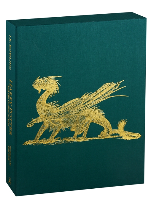 Rowling J. Harry Potter and the Goblet of Fire Deluxe Illustrated Slipcase Edition rowling j k harry potter and the goblet of fire – slytherin edition