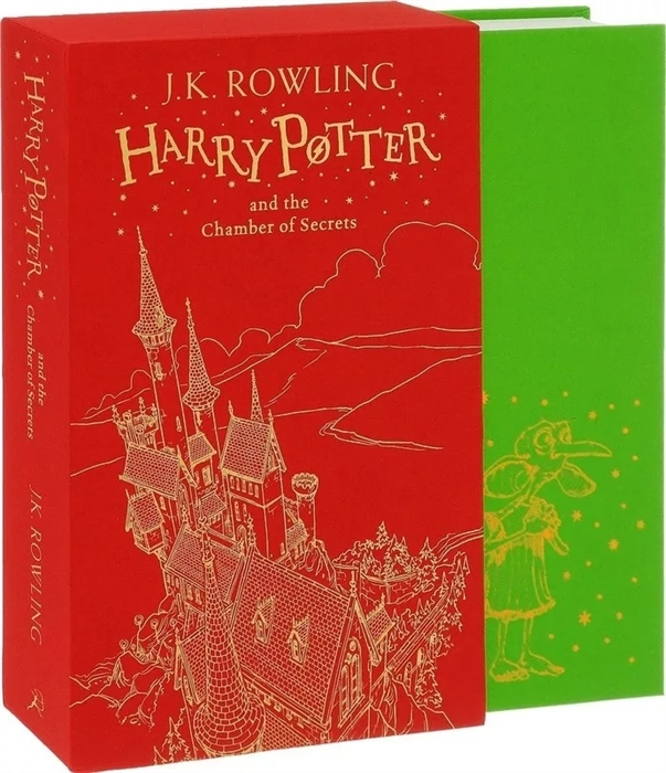 Rowling J.K. Harry Potter and the Chamber of Secrets Gift Edition rowling joanne harry potter and the chamber of secrets gryffindor edition