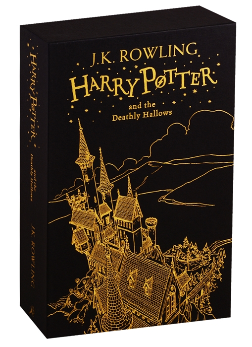 Rowling J.K. Harry Potter and the Deathly Hallows Harry Potter Slipcase Edition harry potter dumbledore teddy potter ron hedwig 4 models 20cm