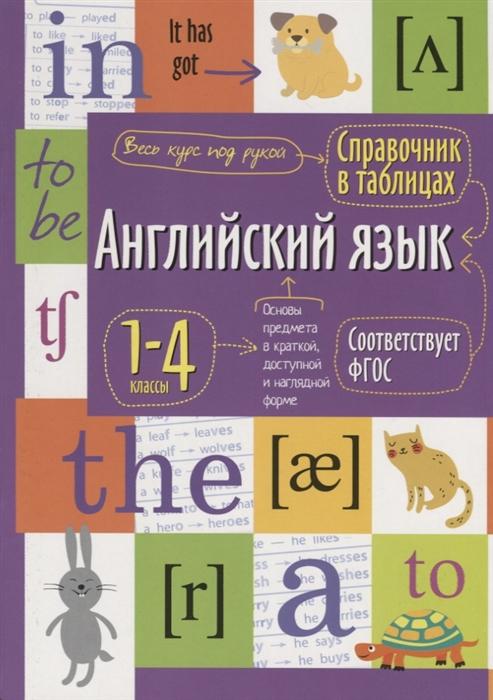 Английский язык 1-4 классы Справочная тетрадь в таблицах