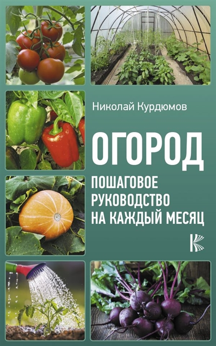 Курдюмов Н. Огород Пошаговое руководство на каждый месяц недорого