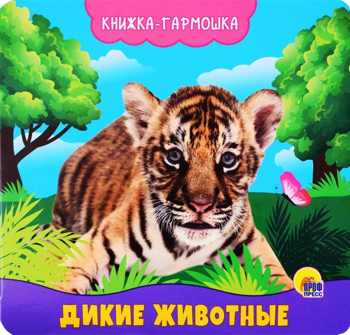 цена на Купырина А. Дикие животные Книжка-гармошка
