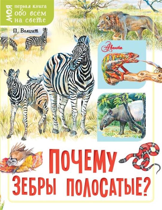 Волцит П. Почему зебры полосатые п м волцит почему идёт дождь