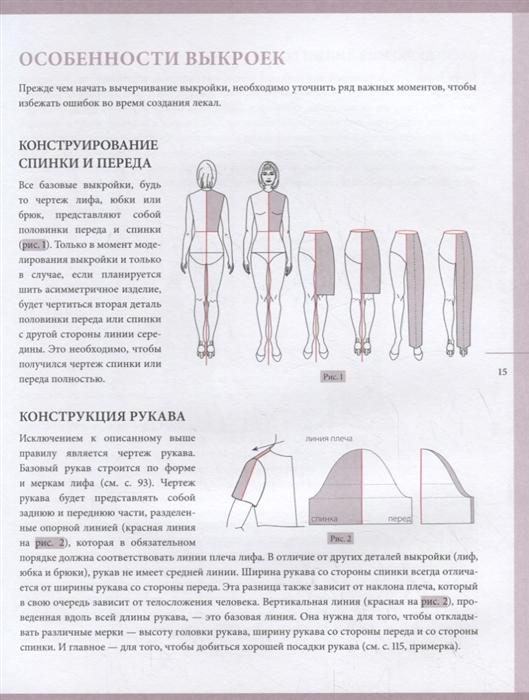 Выкройки по индивидуальным меркам купить ткань в железнодорожном московской области
