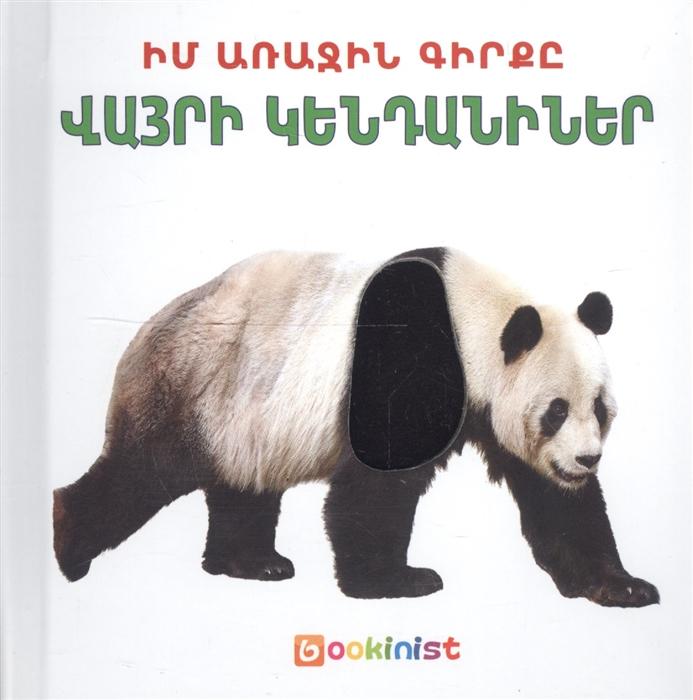 Моя первая книга Дикие животные на армянском языке первая книга для мальчиков на армянском языке