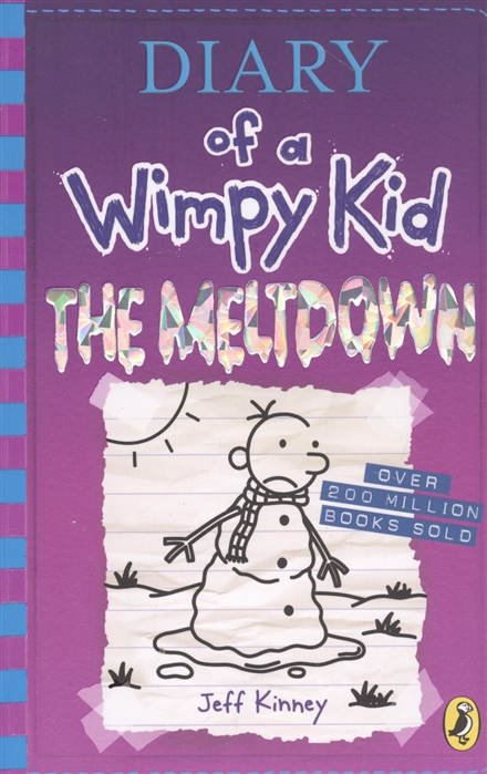 Kinney J. Diary of a Wimpy Kid The Meltdown kinney j diary of a wimpy kid the ugly truth