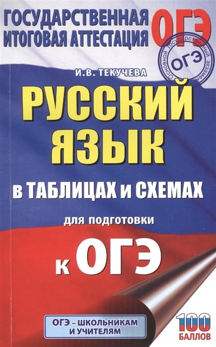 Текучева И. Русский язык в таблицах и схемах для подготовки к ОГЭ 5-9 классы недорого