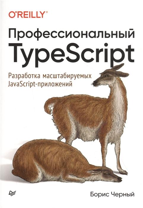Черный Б. Профессиональный TypeScript Разработка масштабируемых JavaScript-приложений