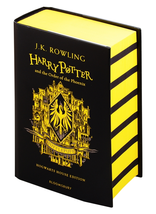 Rowling J. Harry Potter and the Order of the Phoenix - Hufflepuff rowling j k harry potter and the philosophers stone in reading order 1