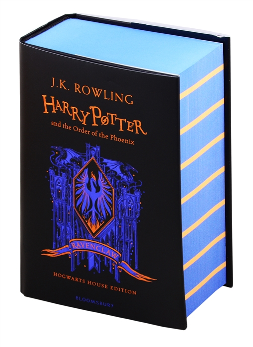 Rowling J. Harry Potter and the Order of the Phoenix - Ravenclaw Edition rowling j k harry potter and the philosophers stone in reading order 1