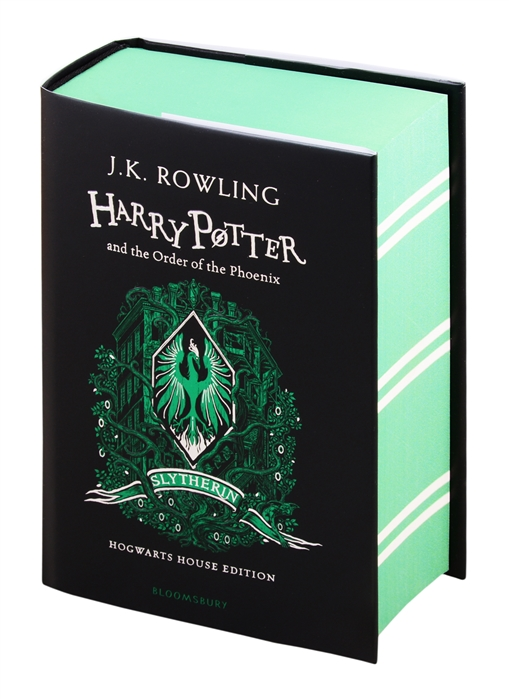 Rowling J. Harry Potter and the Order of the Phoenix - Slytherin Edition rowling j k harry potter and the goblet of fire – slytherin edition