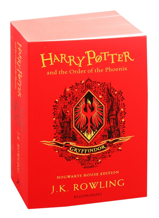 Rowling J. Harry Potter and the Order of the Phoenix - Gryffindor Edition rowling j k harry potter and the philosophers stone in reading order 1