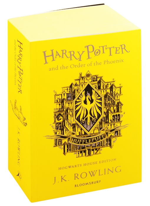 Rowling J. Harry Potter and the Order of the Phoenix - Hufflepuff Edition rowling j k harry potter and the philosophers stone in reading order 1