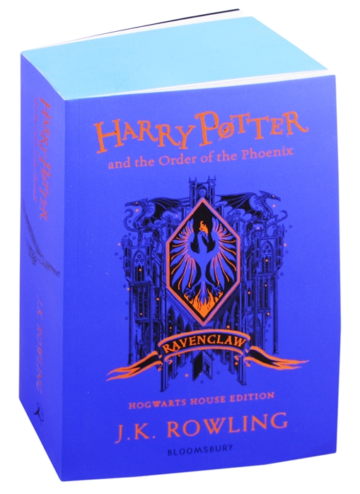 Rowling J. Harry Potter and the Order of the Phoenix 1 - Ravenclaw Edition rowling j k harry potter and the philosophers stone in reading order 1