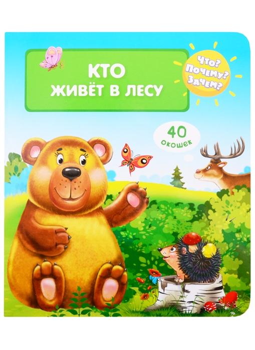 Купить Что Почему Зачем Кто живет в лесу 40 окошек, Омега, Книги - игрушки